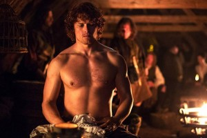 Altro che Christian Grey, qua abbiamo Jamie Fraser   Outlander 1×09